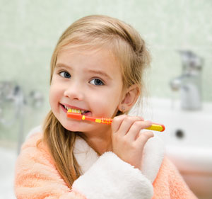 Brushing Teeth - Pediatric Dentist in Alpharetta and Suwanee, GA
